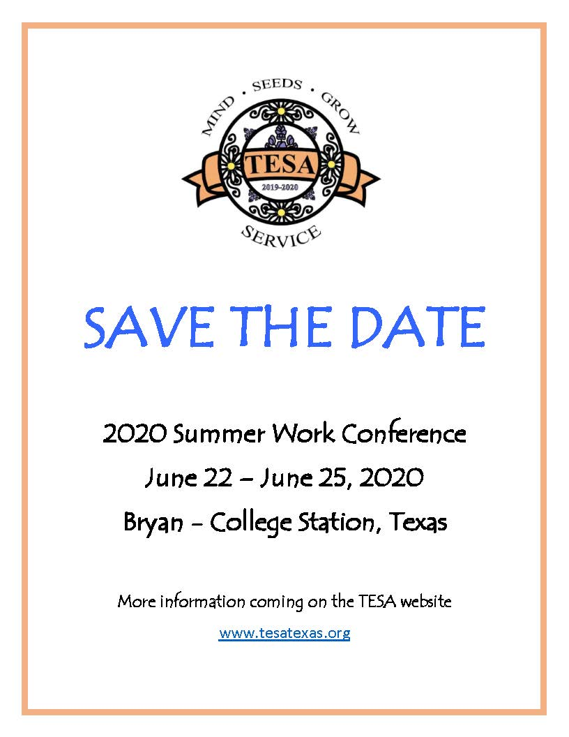 2020 Swc Save The Date